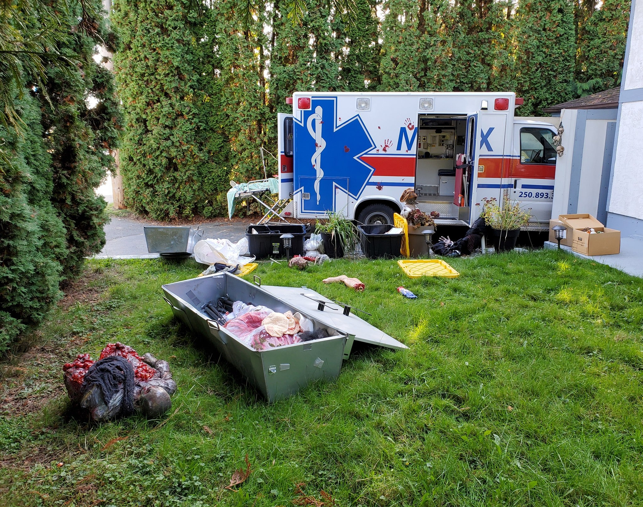 Medix, Medix Holdings, Spill Response Trailers