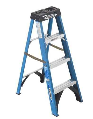 Ladder 4 Fibreglass