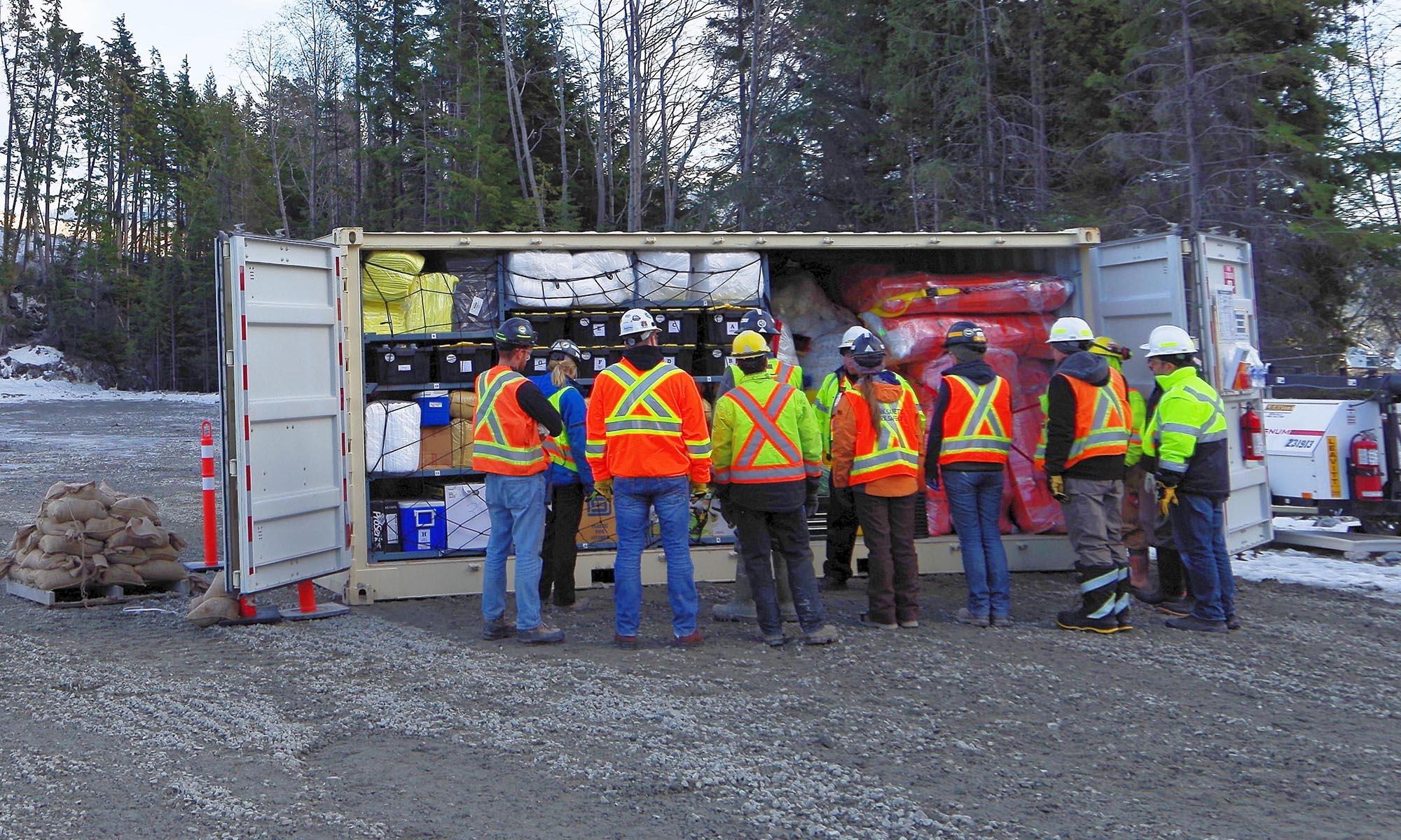 Spill Response Centre – SRC100kMax