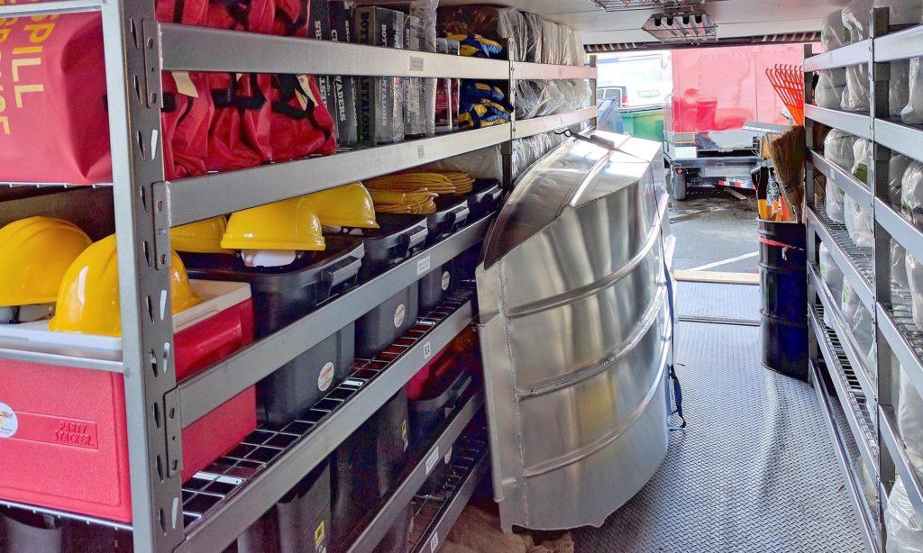 SRT10000 Spill Response Trailer