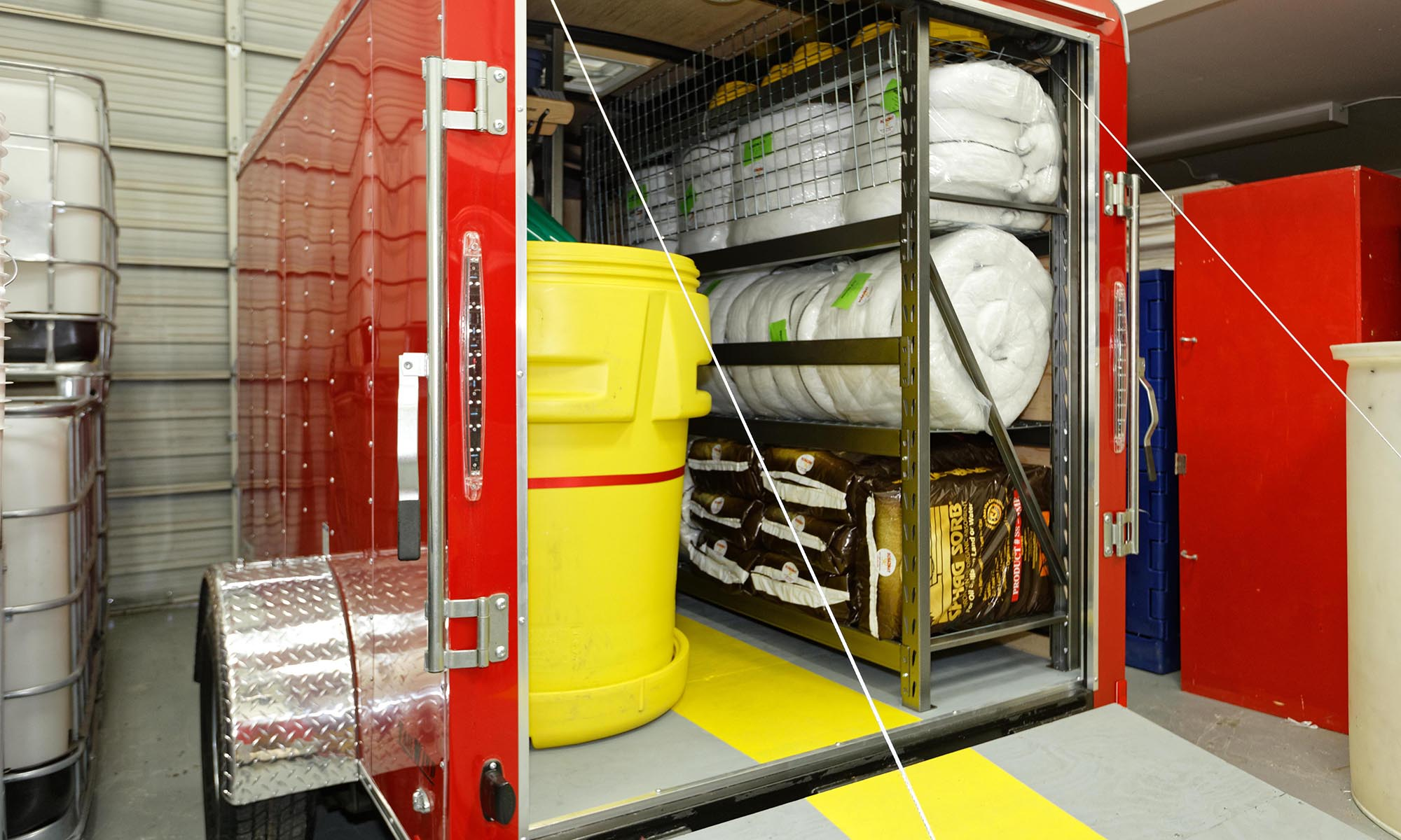 spill response trailers